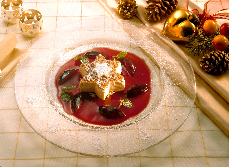 weihnachtliche Nachspeise
