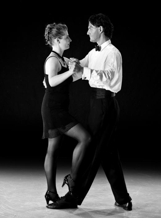 Paar beim Tango Argentino