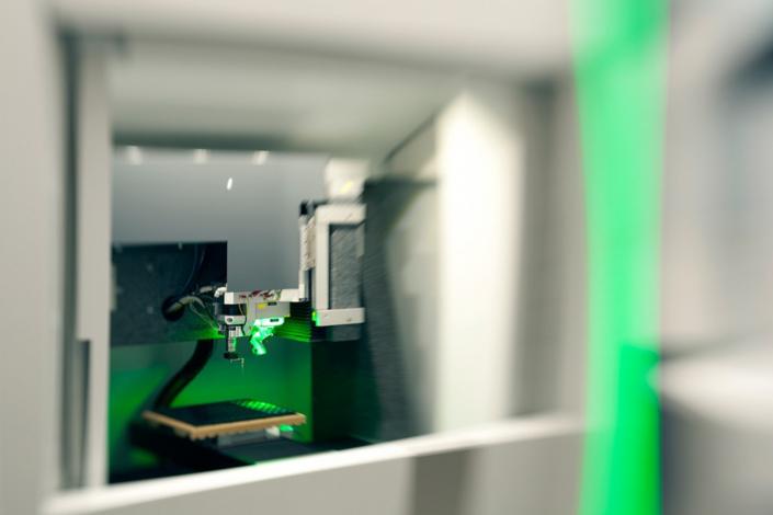 Industriefotografie und Architekturfotografie, 3D-Druck in Aktion