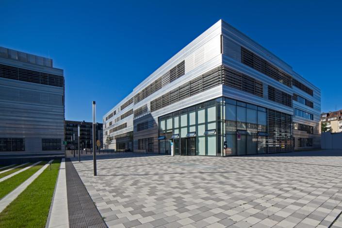Industriefotografie und Architekturfotografie, Gebäude der Fachhochschule Düsseldorf